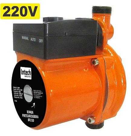 INTECH BOMBA PRESSURIZ.120W 1600L 220V