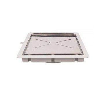 Estrela Ralo Invisivel Premium Quadrado 15X15Cm