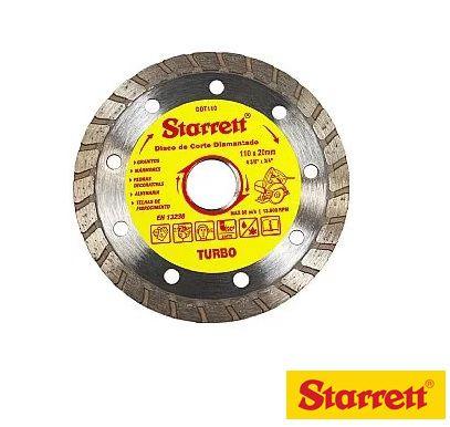Starrett Disco De Corte Diamantado Turbo 110Mm