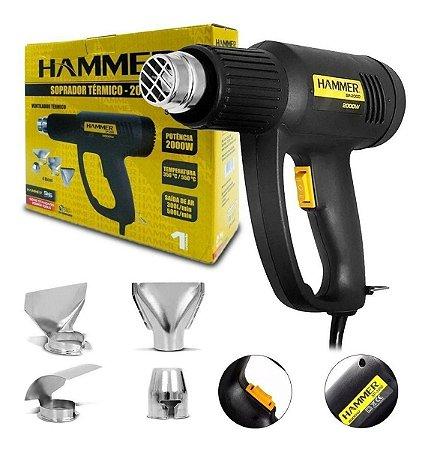 Hammer Soprador Termico 1900W 220V C/4 Acessorios
