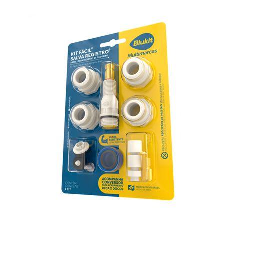 Blukit Kit Facil Salva Registro 9 Em 1 Em Pps 12 Pecas Multi-Marcas 061403-212