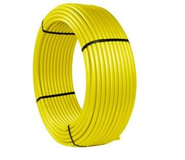 Maygas Tubo Multicamada Gas Amarelo Com Protecao U.V Dn 32 mm