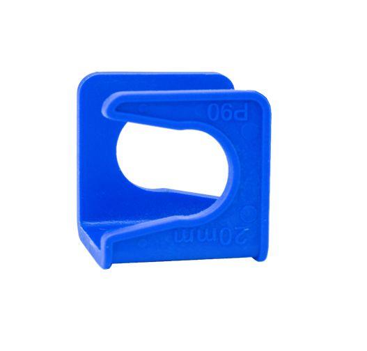 Arc Abracadeira Fix Para Tubo 20 mm Azul