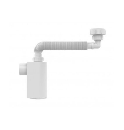 Blukit Sifao Universal de Parede com Copo Branco Para Lavatorio 7/8 x DN38 031303-46