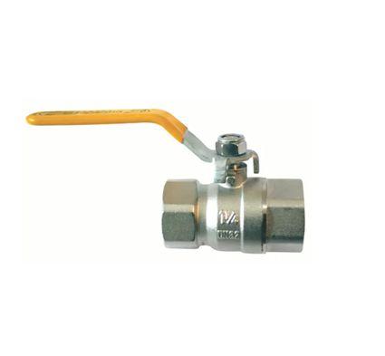 Emmeti Valvula Esfera Alavanca P/Gas F/F Dn 1/2