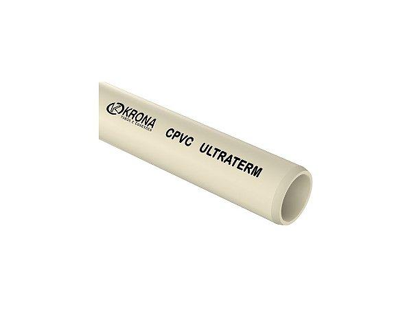 Krona Ultraterm® Cpvc Tubo Soldavel 3M