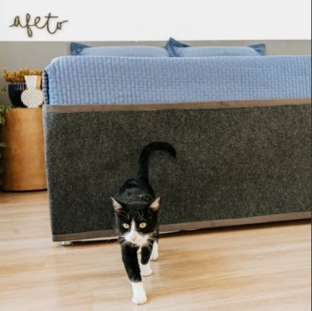 Protetor e Arranhador Cama Box Casal para Gatos