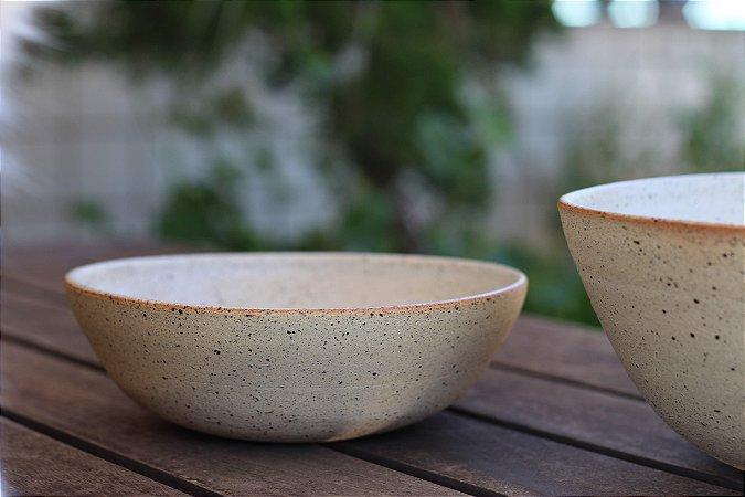 Comedouro Fundo em Cerâmica