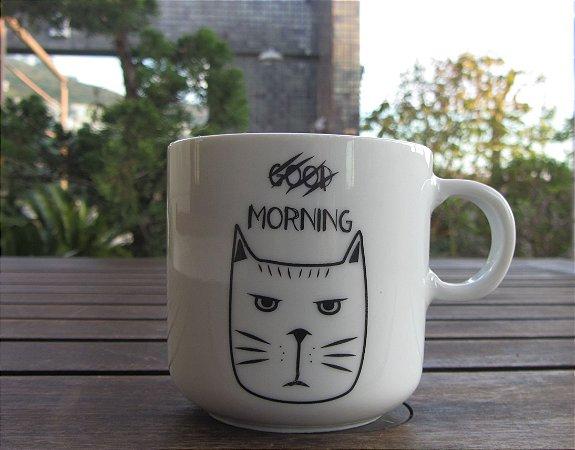 Caneca Good Morning Gato