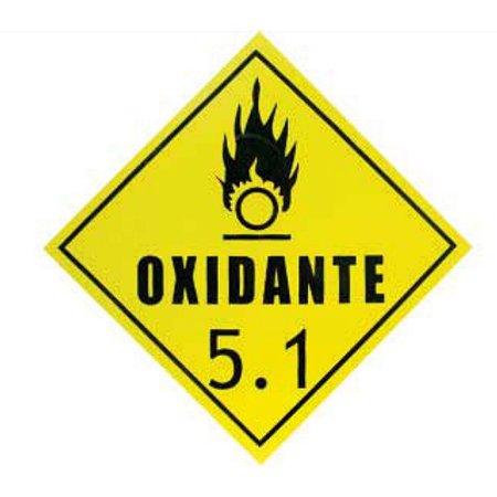 Placa de Sinalização Oxidante 5.1 Plastcor