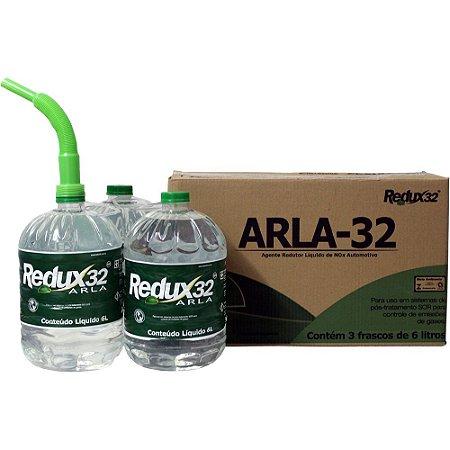 Arla32 18 Litros Caixa com 3x6 Litros Redux32