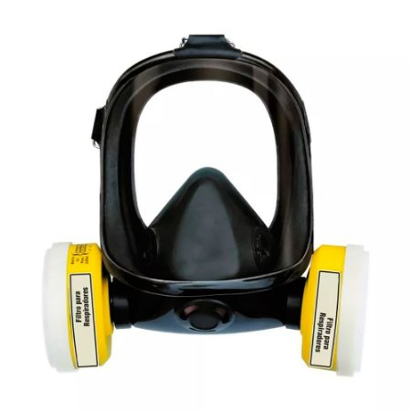 Mascara Panorâmica Facial Total Para 2 Filtros Benzeno Plastcor