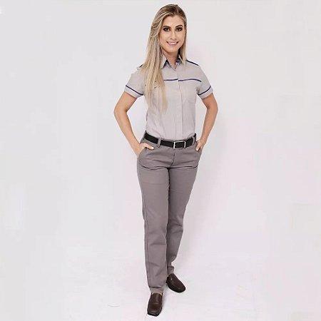 Farda Uniforme Profissional Camisa Executiva Feminina
