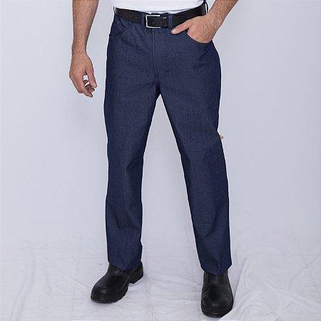 Calça Jeans Masculino Uniforme Farda Profissional Macrolub