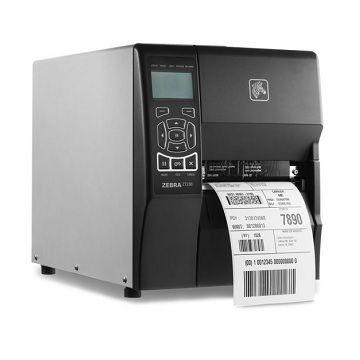 Impressora de Etiqueta Zebra ZT230 TT 203dpi USB, SERIAL