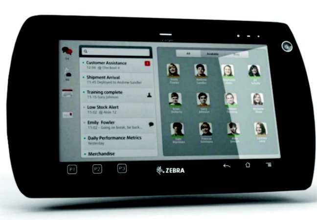 Tablet Zebra/ Motorola Enterprise WIFI ET1