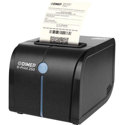 Impressora Não Fiscal Dimep D-Print 250 Conexão USB, Serial e Ethernet