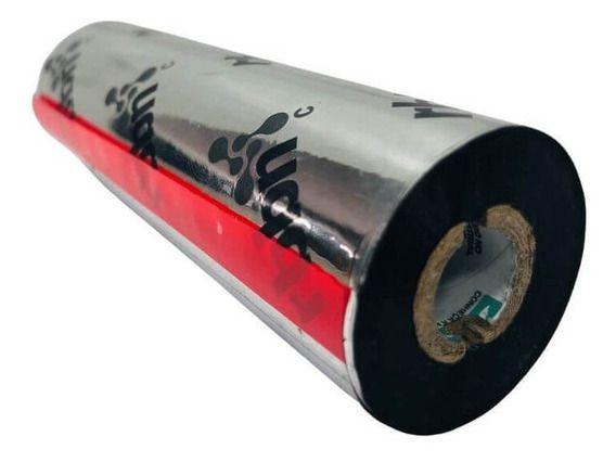 """RIBBON 110MM X 75M CERA - 75 METROS TUBO 1/2"""""""