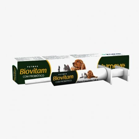 Biovitam - Suplemento vitamínico oral, com probiótico