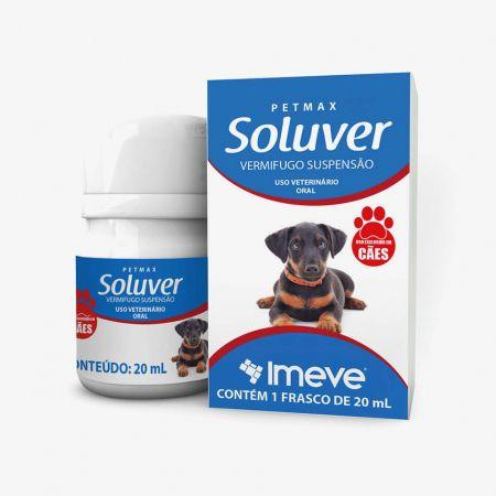 Soluver - Vermífugo suspensão para cães