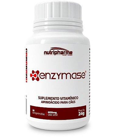 Suplemento Vitamínico Nutripharme Enzymase 30 Cápsulas para Cães