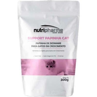 Suplemento Vitamínico Nutripharme Support Papinha de Desmame para Gatos
