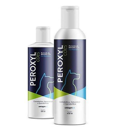 Shampoo Antibacteriano Centagro Peroxyl para Cães