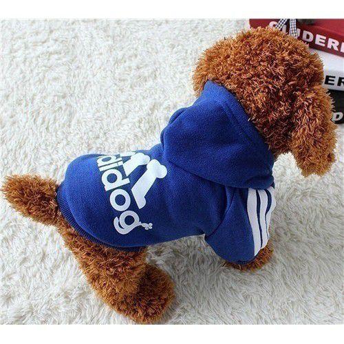 Roupa para Cães Moleton Adidog  N°4
