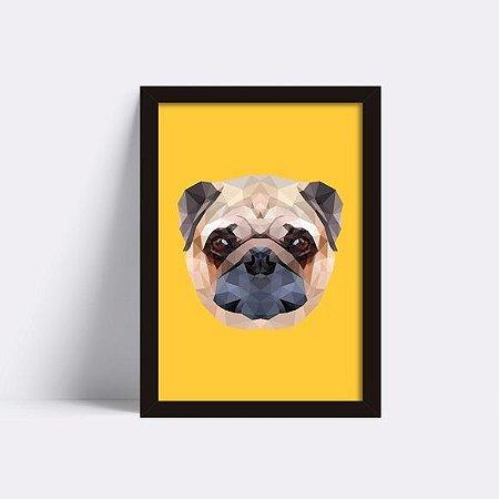Quadro Pug Face