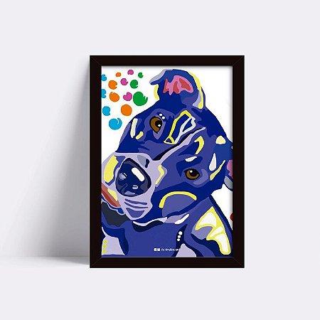 Quadro Pit Azul