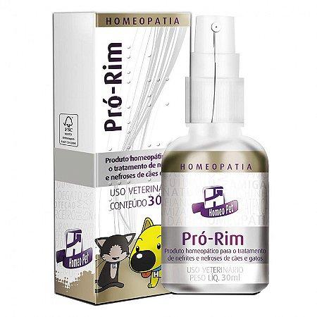 Sistema de Terapia Homeopet Doença Renal Pró-Rim - 30 mL
