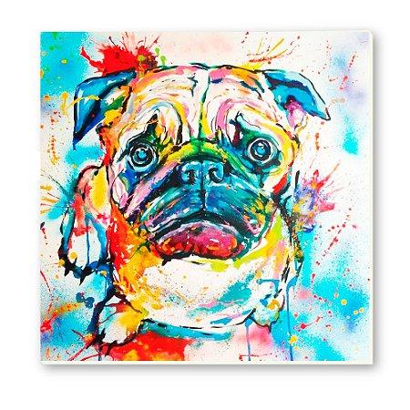 Pintura em tela Pug - ESP