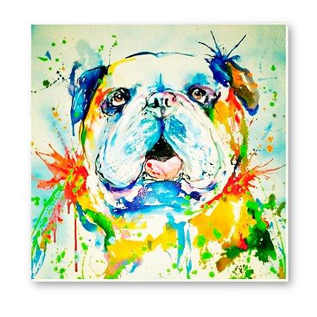 Pintura em tela Bulldog - ESP