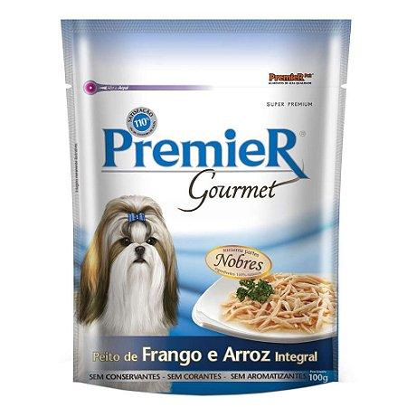 Premier Pet Gourmet Sachê Frango para Cães Adultos 100g