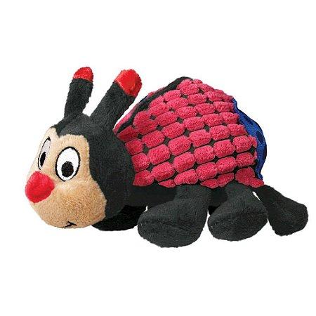 Brinquedo KONG Picnic Patches Ladybug PP para Cães