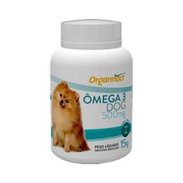 Suplemento Vitamínico Organnact Omega 3 Dog 500mg