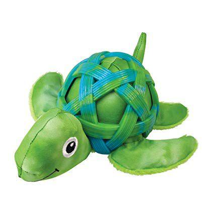 Brinquedo KONG  Sea Shells Turtle Medium  para Cães