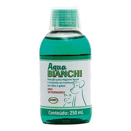Higiene Bucal Cães Gatos Aqua Bianchi 250ml