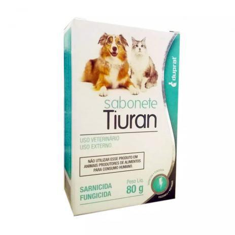 Sabonete Sarnicida Duprat Tiuran para Cães e Gatos - 80 g