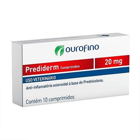 Anti-inflamatório Prediderm Comprimidos 20mg
