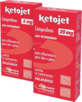 Anti-Infamatório Agener União Ketojet Cetoprofeno 10 comprimidos