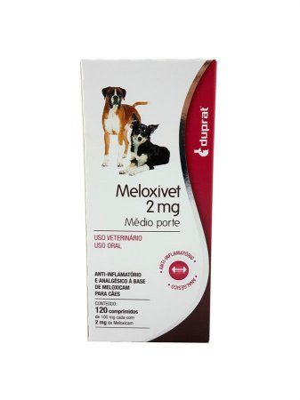 Anti-Inflamatório Meloxivet 10 comprimidos