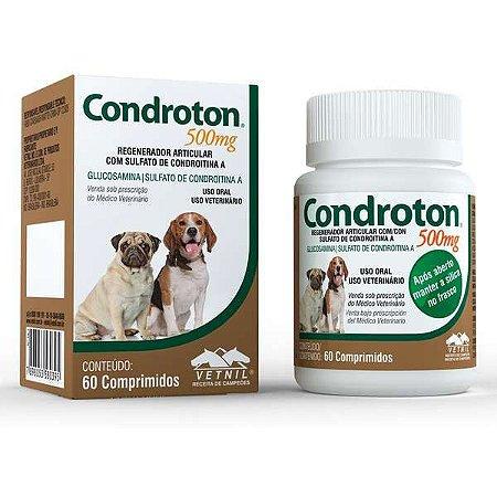 Regenerador Articular Vetnil Condroton 60 Comprimidos