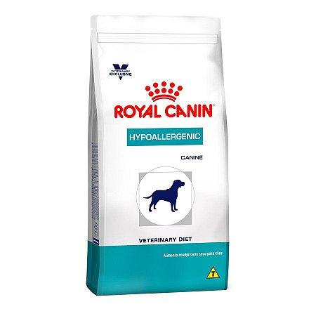 Ração Royal Canin Canine Veterinary Diet Hypoallergenic para Cães Adultos com Alergias