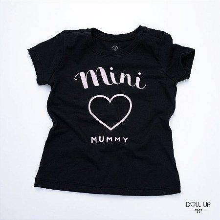Camiseta Mini Mummy manga curta menina