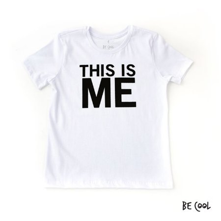 Camiseta This is me manga curta infantil
