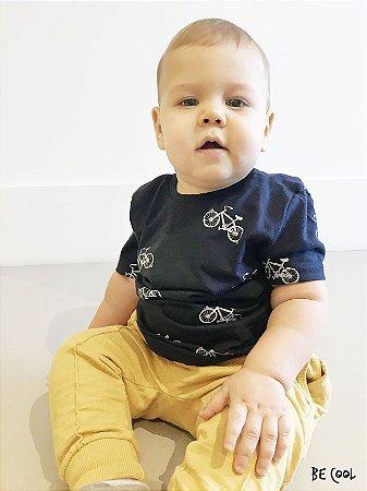 Camiseta Bicicletas manga curta menino