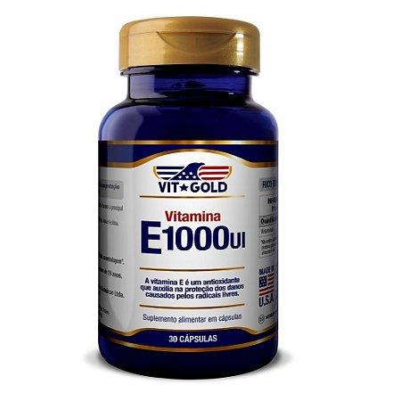 Vitamina E 1000UI Vitgold 30 cápsulas