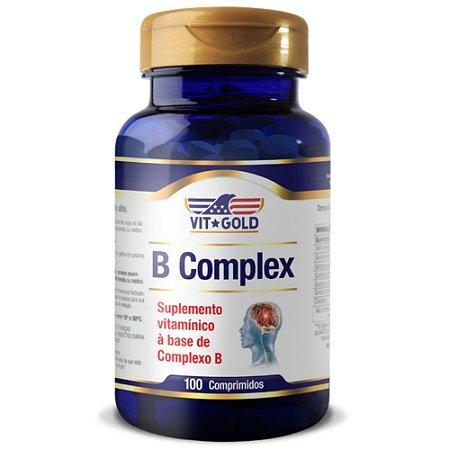 Complexo B Vitgold 100 Comprimidos