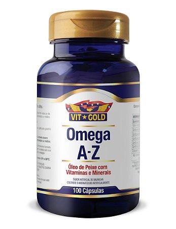 Omega 3 A-Z Vitgold 100 caps.